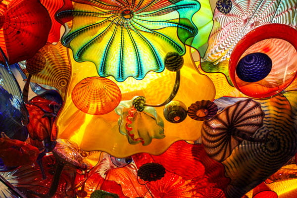 Chihuly Glass Blown Sculpture