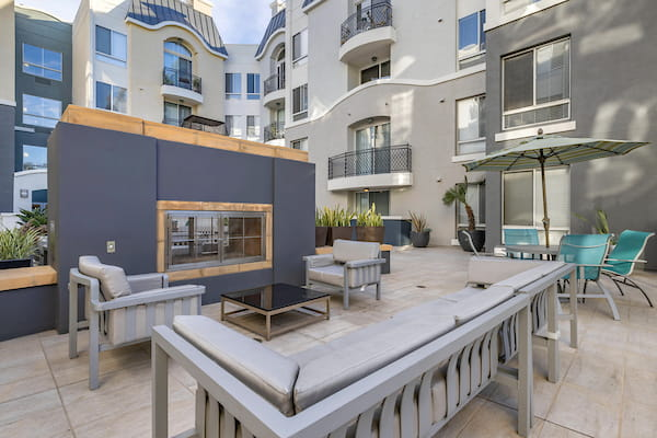 Clubhouse with pool table