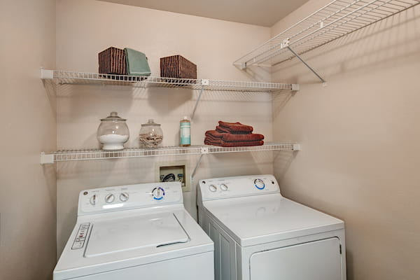 In- Unit Washer and Dryer