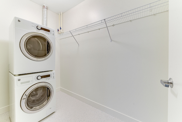 In -Unit Washer and Dryer
