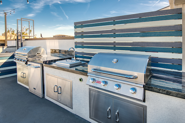 Rooftop Terrace BBQ Area