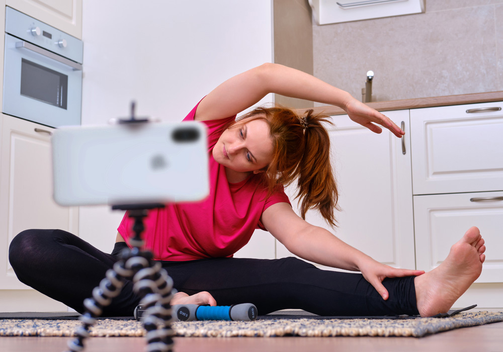 At-home exercise is more fun with others online